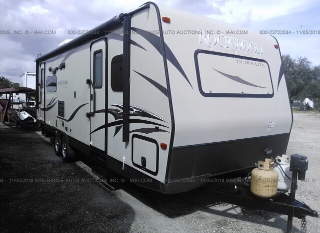2014 FOREST RIVER ROCKWOOD LITE WEIGHT TRAILERS