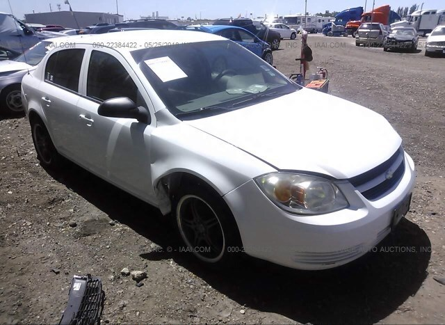 Salvage Car Chevrolet Cobalt 2007 White For Sale In Ogden Ut