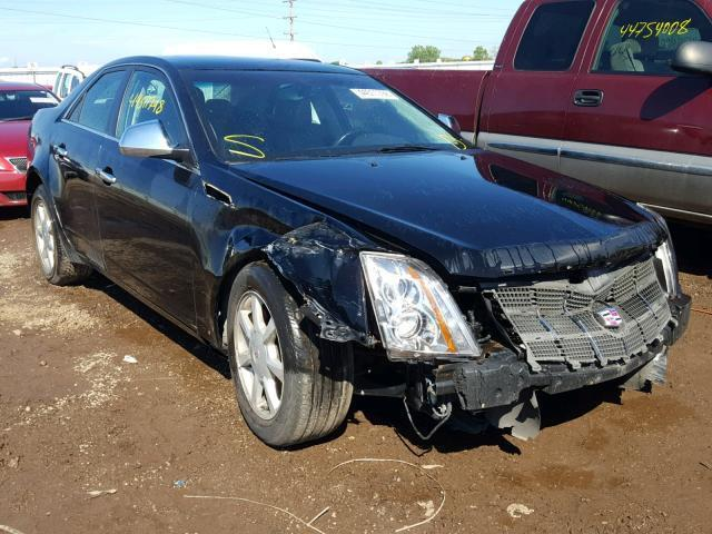 Auction Ended Salvage Car Cadillac Cts 2008 Black Is Sold In Elgin