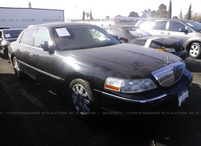 Auction Ended Salvage Car Lincoln Town Car 2010 Black Is Sold In