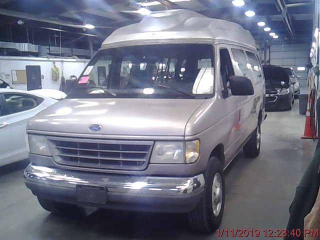 1995 FORD E350 WAGON XL; XLT; CHATEAU