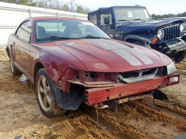 2004 FORD MUSTANG BASE; DELUXE; PREMIUM