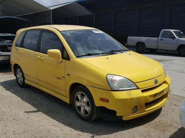 Salvage Car Suzuki Aerio 2003 Yellow For Sale In Hayward Ca Online