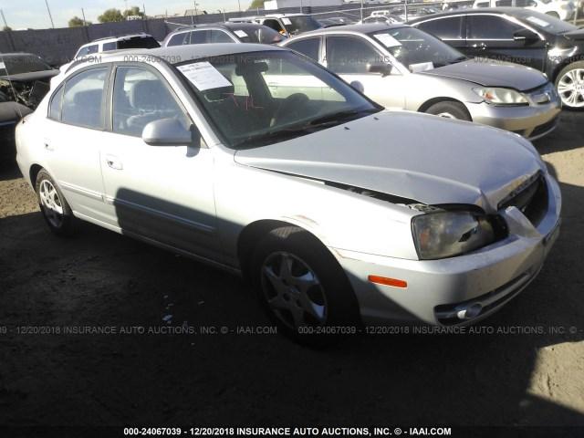 Salvage Car Hyundai Elantra 2006 Silver For Sale In Phoenix Az