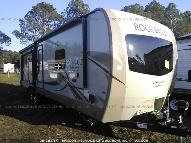2019 FOREST RIVER ROCKWOOD LITE WEIGHT TRAILERS
