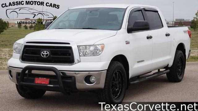 Used Car Toyota Tundra 2013 Super White for sale in LUBBOCK