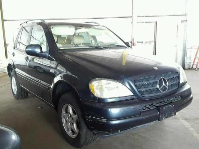 Used Car Mercedes Benz M Class 2000 Black For Sale In Phoenix Az