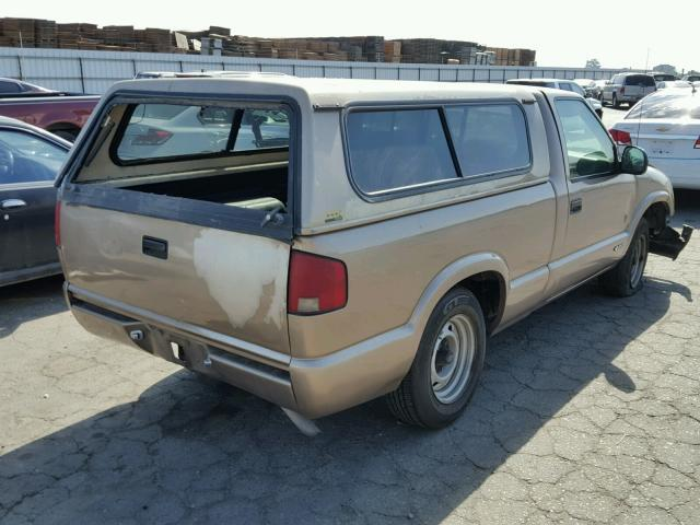 Salvage Car Chevrolet S10 1997 Brown for sale in FRESNO CA
