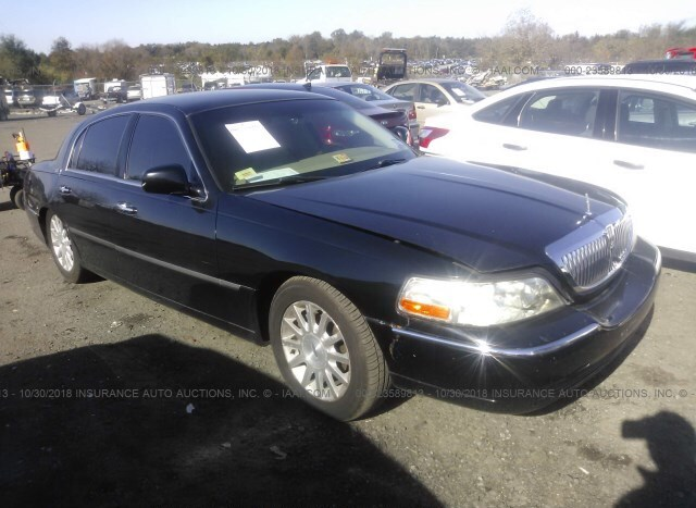 Auction Ended Salvage Car Lincoln Town Car 2008 Black Is Sold In