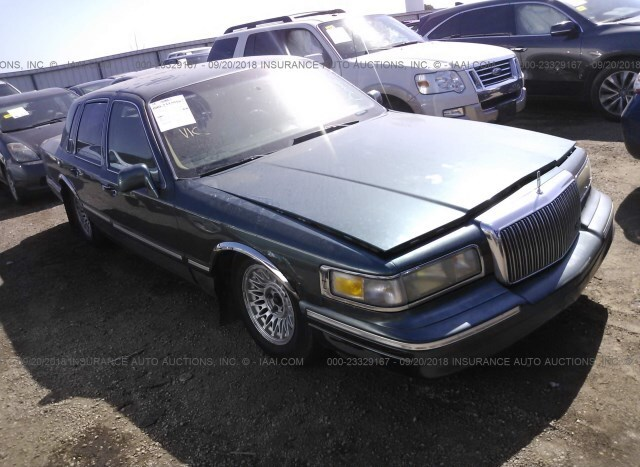 Salvage Car Lincoln Town Car 1996 Gray For Sale In Waukee Ia Online