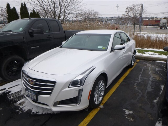 Used Car Cadillac Cts 2015 White For Sale In Waverly Ny Online
