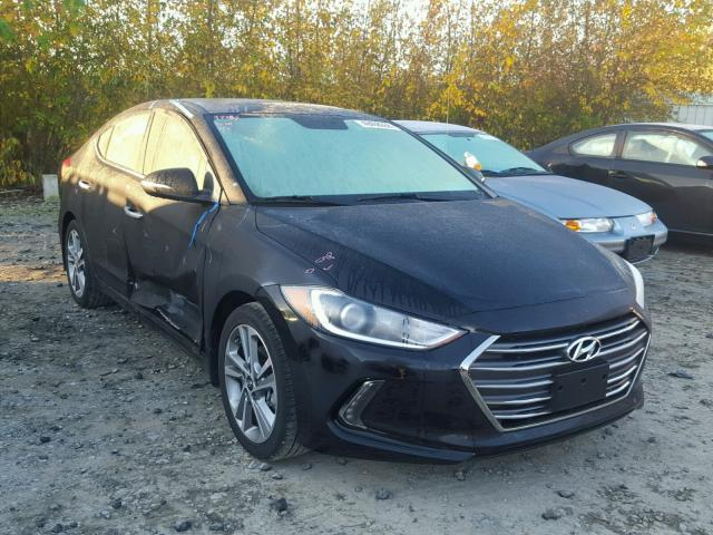 Auction Ended Salvage Car Hyundai Elantra 2017 Black Is Sold In