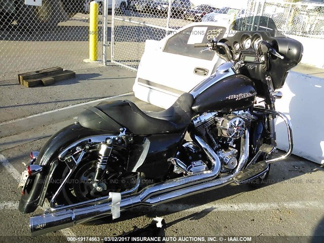 salvage motorcycle harley-davidson flhx 2013 black for sale in