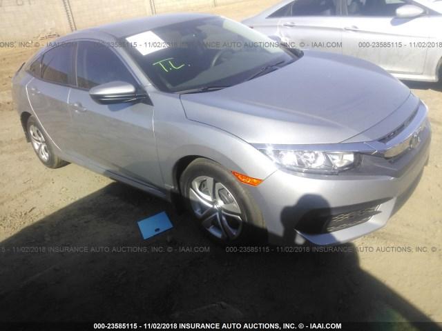 Salvage Car Honda Civic 2018 Silver For Sale In Phoenix Az Online