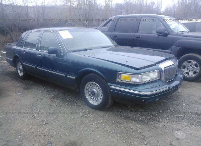 Auction Ended Salvage Car Lincoln Town Car 1997 Green Is Sold In St