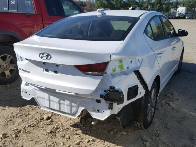 Salvage Car Hyundai Elantra 2018 White For Sale In Madison Wi Online