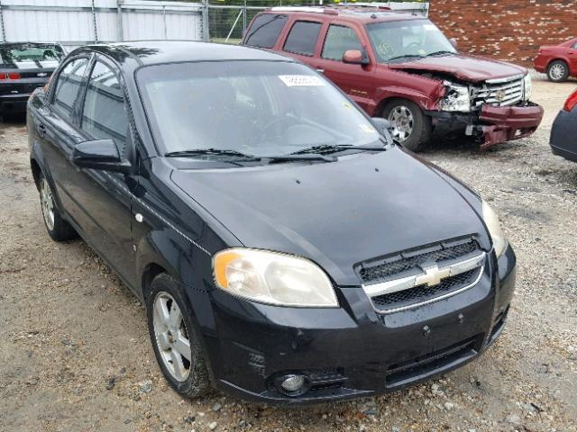 Auction Ended Salvage Car Chevrolet Aveo 2008 Black Is Sold In