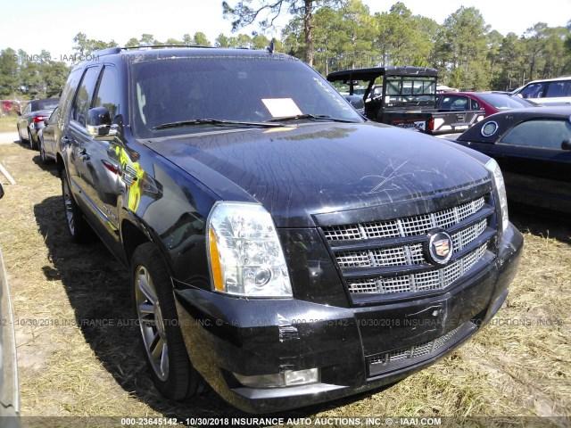 Salvage Car Cadillac Escalade 2014 Black For Sale In Milton Fl