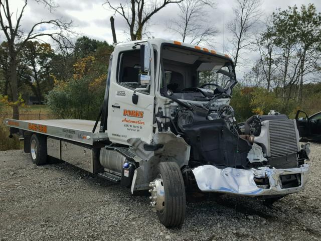 Salvage Truck Hino 268 2015 White For Sale In Cudahy Wi Online