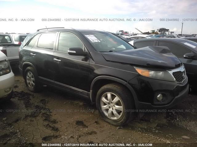 Salvage Car Kia Sorento 2011 Black For Sale In Phoenix Az Online