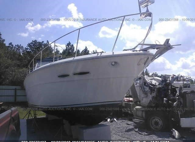 1985 SEA RAY BOAT ONLY