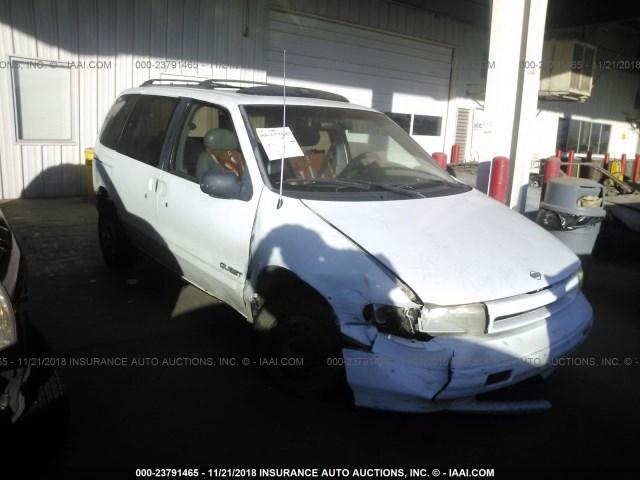 Salvage Car Nissan Quest 1995 White For Sale In Phoenix Az Online