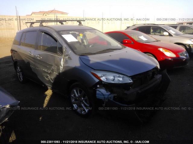 Salvage Car Mazda Mazda5 2013 Gray For Sale In Phoenix Az Online