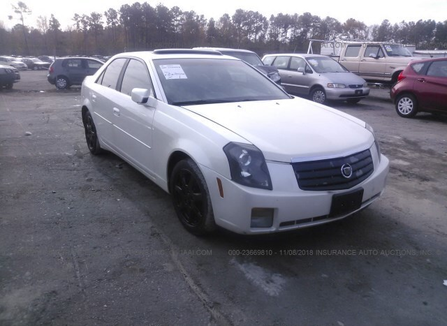 Salvage Car Cadillac Cts 2003 White For Sale In Ashland Va Online