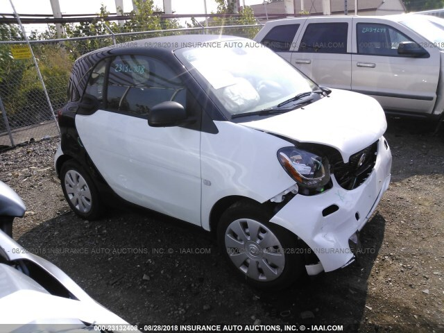 2016 SMART FORTWO PURE; PASSION COUPE