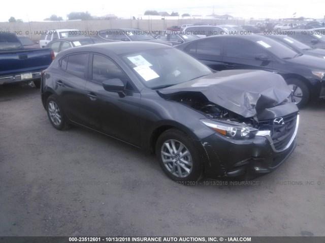 Salvage Car Mazda Mazda3 2017 Gray For Sale In Phoenix Az Online