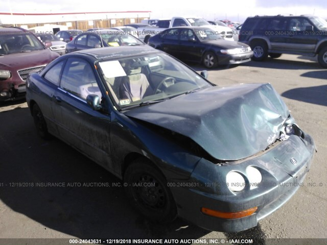 Salvage Car Acura Integra 2000 Green For Sale In Commerce City Co