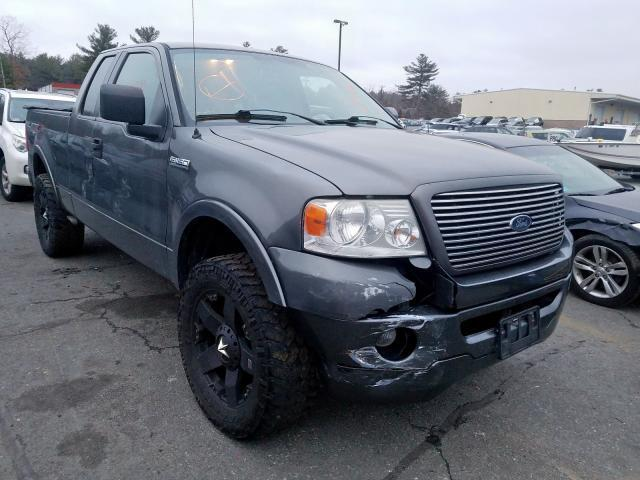 2006 F150 For Sale >> Salvage Car Ford F150 2006 Charcoal For Sale In Exeter Ri