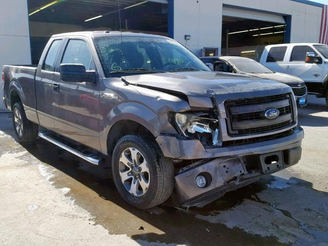 2013 F150 For Sale >> Salvage Car Ford F150 2013 Gray For Sale In El Paso Tx