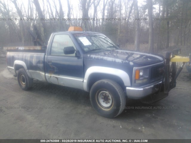 Sierra Auto Auction >> Used Car Gmc Sierra 1994 Dark Blue For Sale In Salem Nh
