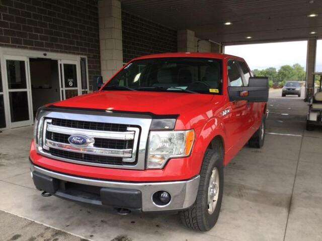2013 F150 For Sale >> Used Car Ford F150 2013 Red For Sale In Jeffersonville In