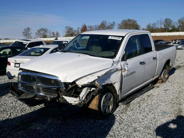 Salvage Car Dodge Ram 1500 2011 White for sale in GREER SC
