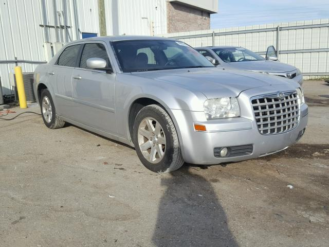 Salvage Car Chrysler 300 2007 Silver For Sale In Montgomery Al Online Auction 2c3ka53g67h892258
