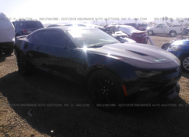 Auction Ended Salvage Car Chevrolet Camaro 2018 Black Is Sold In