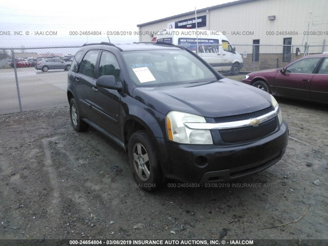 Used Car Chevrolet Equinox 2009 Black For Sale In Athens Al