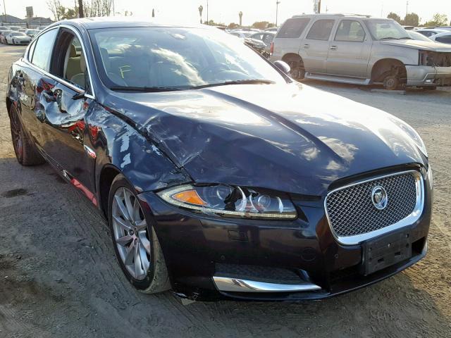 Salvage Car Jaguar Xf 2012 Blue For Sale In Los Angeles Ca Online
