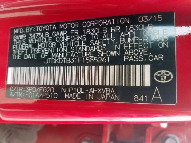 Toyota Prius C for Sale