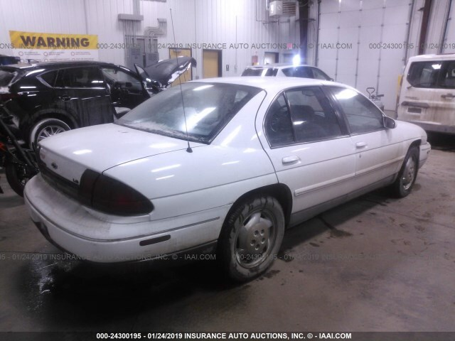 Salvage Car Chevrolet Lumina 1996 White For Sale In Fargo Nd Online