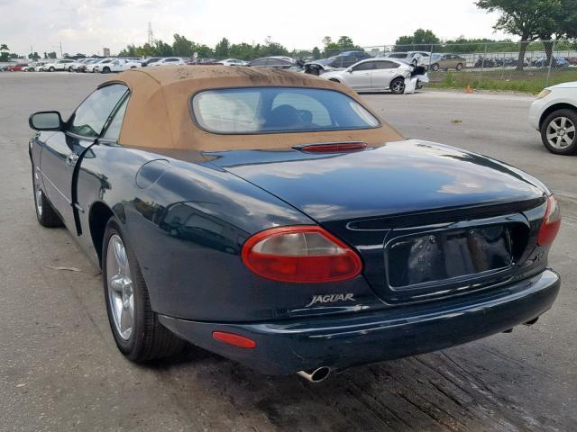 Used Car Jaguar Xk8 1997 Green for sale in ORLANDO FL online