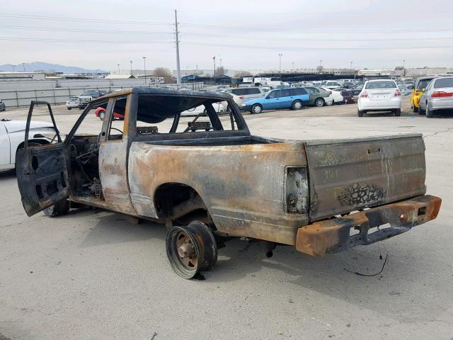 Salvage Car Nissan Pickup 1986 Burn for sale in NORTH SALT