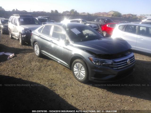 Salvage Car Volkswagen Jetta 2019 Gray For Sale In Phoenix Az Online