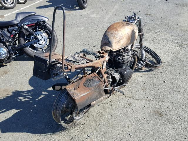 Salvage Motorcycle Triumph Bonneville 2007 Burn for sale in