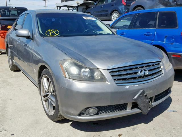 Salvage Car Infiniti M35 2006 Gray For Sale In Los Angeles Ca Online