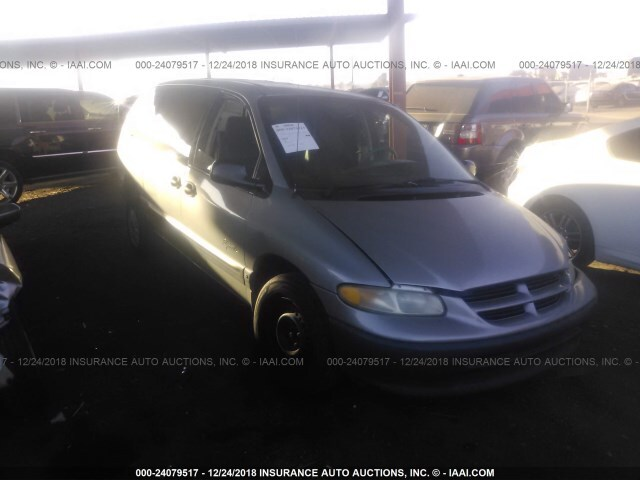 Salvage Car Plymouth Grand Voyager 1997 Silver For Sale In Phoenix