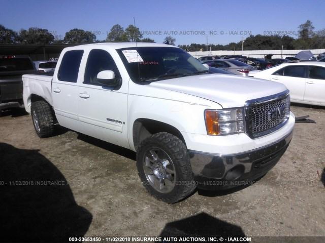 Sierra Auto Auction >> Salvage Car Gmc Sierra 2008 White For Sale In Lafayette La Online
