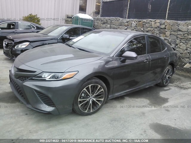 Car Auctions Ny >> Salvage Car Toyota Camry 2018 Gray For Sale In Rock Tavern